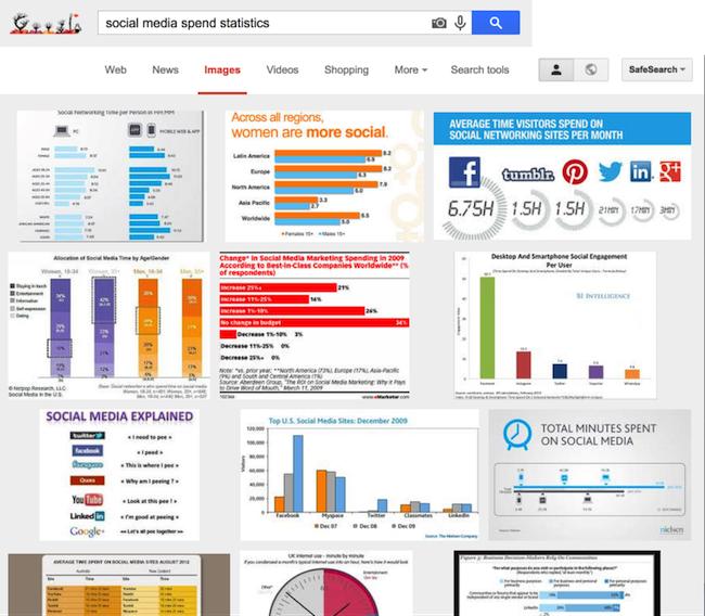 googleの画像検索結果の例