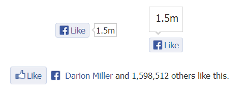 Facebookのいいね!ボタン