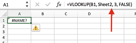#name-error-message-in-excel