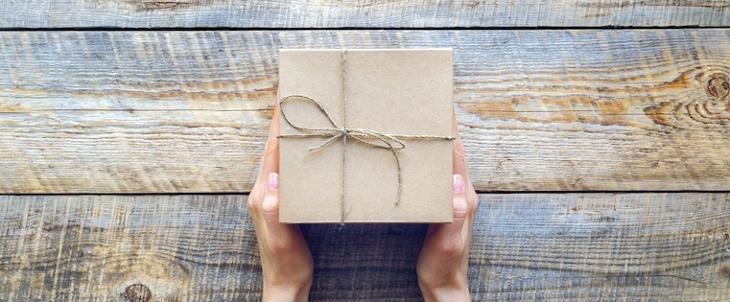顧客へのプレゼント