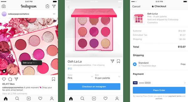 Instagramショッピング投稿とショップ
