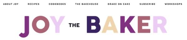 Joy the Bakerのブログ構成タグ