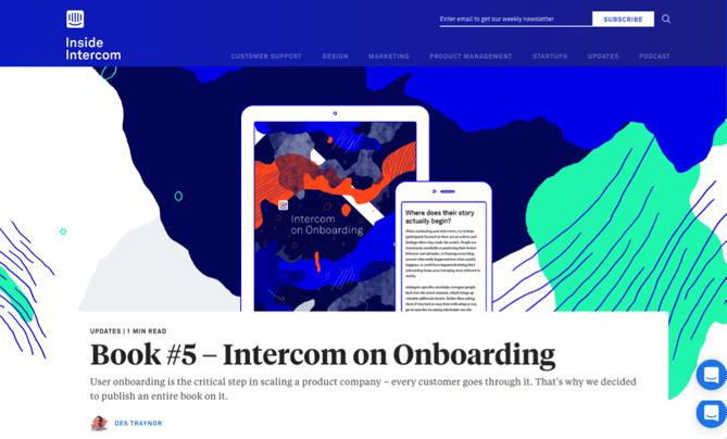 営業、マーケティング、顧客コンバージョンに関するInside Intercomブログ