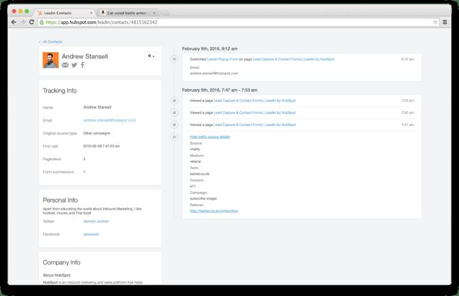 ワードプレスのプラグインLeadInのイメージ