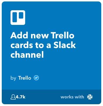 Slack経由でTrelloの投稿を活用する