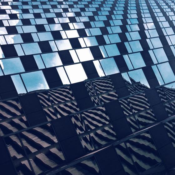 建築物の抽象的写真