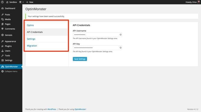 ワードプレスのプラグインOptionMonsterのイメージ