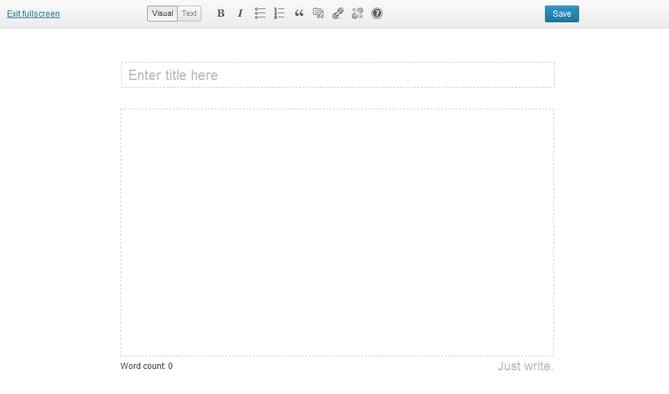 ワードプレスのプラグインJust Writingのイメージ