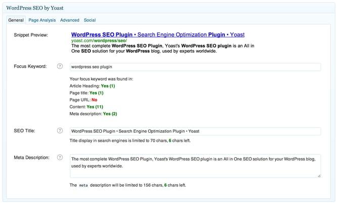 ワードプレスのプラグインWordPress SEO by Yoastのイメージ