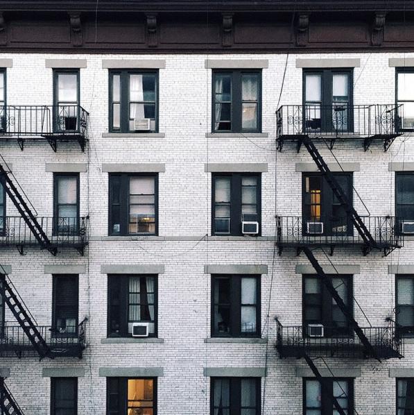 建物の繰り返しパターン