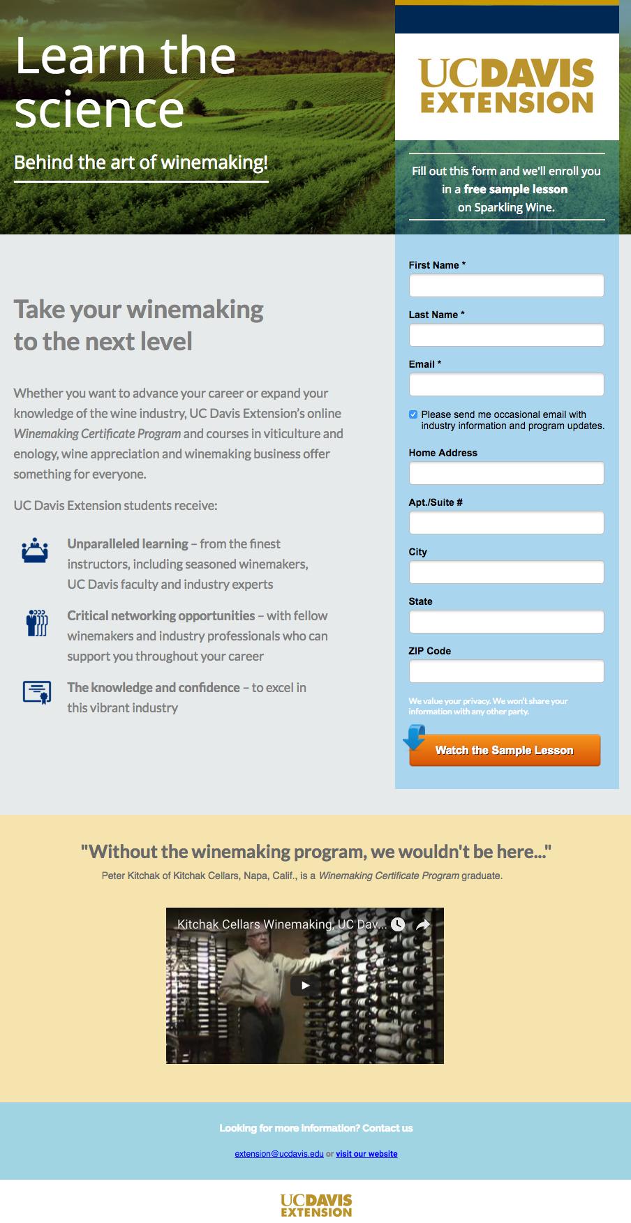 uc-davis-art-of-winemaking-landing-page-example.png