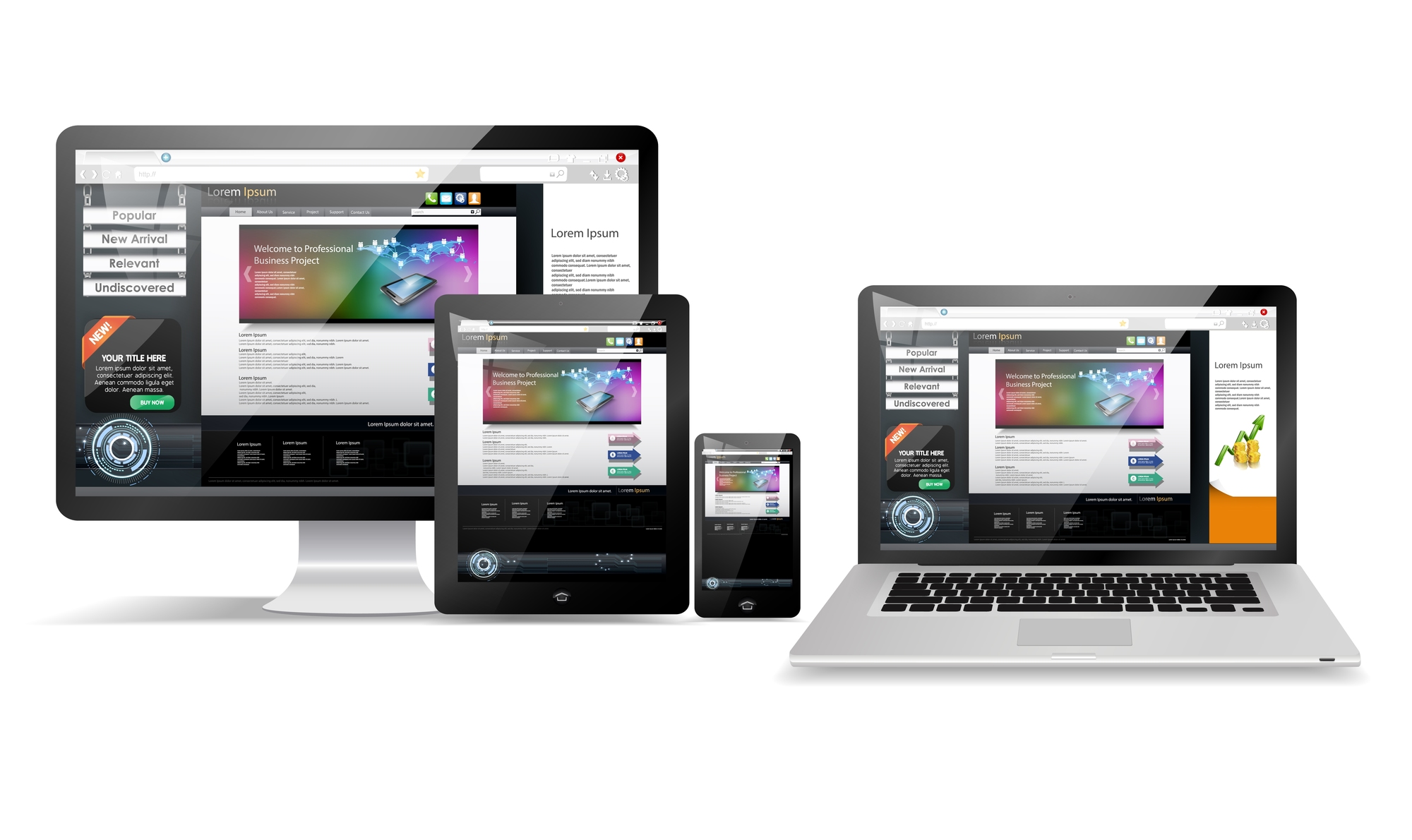 ホームページデザインの参考になる、ギャラリーサイト厳選19選
