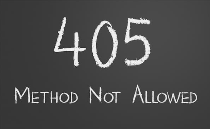 405 エラー(Method Not Allowed)とは?その原因と解決方法