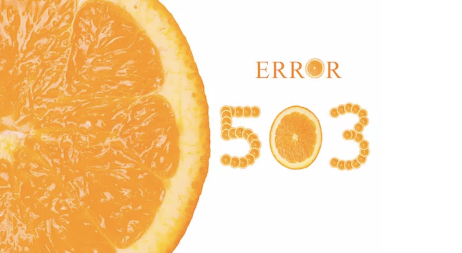 503 Service Temporarily Unavailable エラーの意味と解決法