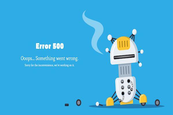500 Internal Server Errorとは?その意味と解決方法